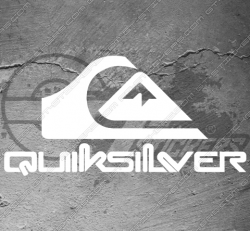 Stickers Quiksilver 2, taille au choix