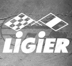 Stickers Ligier, taille au choix