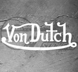 Stickers Von Dutch, taille au choix