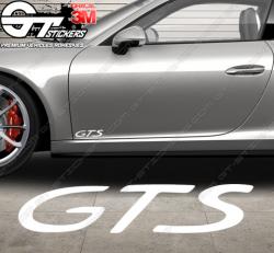 1x Sticker Porsche GTS
