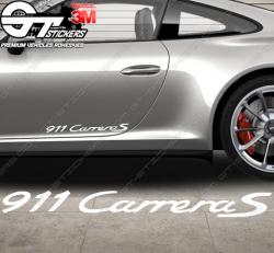 1x Sticker Porsche Carrera 911 GTS