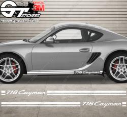 Kit bandes Porsche Cayman 718