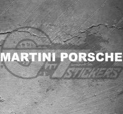 Stickers Porsche Martini