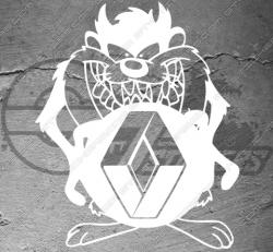 Sticker Renault Taz