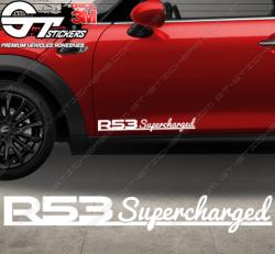 Logo Mini Cooper R53 Supercharged