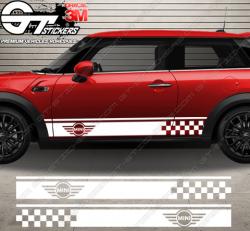 Kit Bandes Latérales Mini Cooper S-Racing