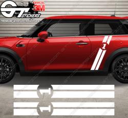Kit Bandes Latérales Mini Cooper Side Racing