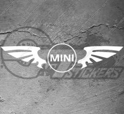 Stickers Logo Wings Mini Cooper