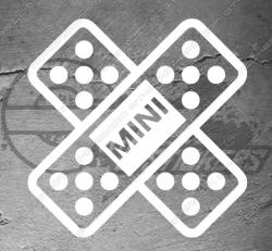 Stickers Sparadrap Mini Cooper