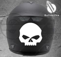 Stickers casque Harley Davidson