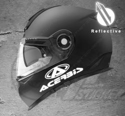 Stickers rétro-réfléchissant pour casque Acerbis