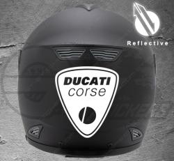 Stickers rétro-réfléchissant pour casque Ducati