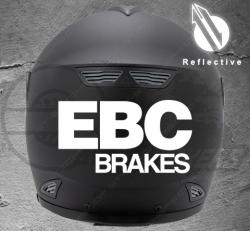 Stickers rétro-réfléchissant pour casque EBC