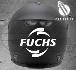 Stickers rétro-réfléchissant pour casque Fuchs
