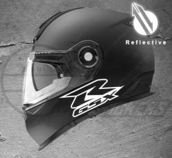 Stickers rétro-réfléchissant pour casque R GSX