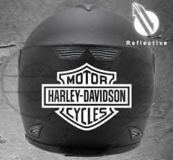 Stickers rétro-réfléchissant pour casque Harley Davidson