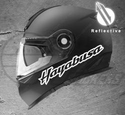 Stickers rétro-réfléchissant pour casque Hayabusa