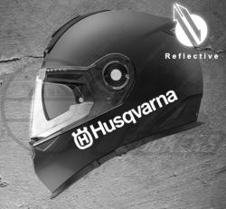 Stickers rétro-réfléchissant pour casque Husqvarna