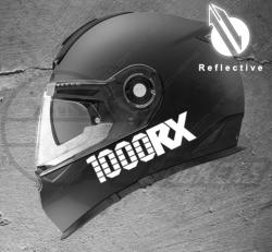 Stickers rétro-réfléchissant pour casque 1000RX