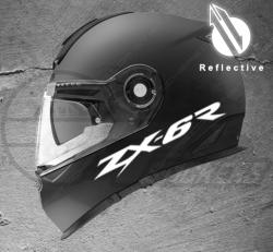 Stickers rétro-réfléchissant pour casque ZX-6R