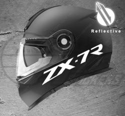 Stickers rétro-réfléchissant pour casque ZX-7R