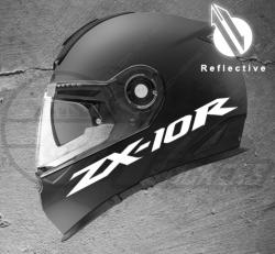Stickers rétro-réfléchissant pour casque ZX-10R