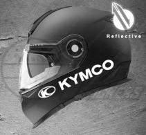 Stickers rétro-réfléchissant pour casque KYMCO