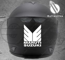 Stickers rétro-réfléchissant pour casque SUZUKI