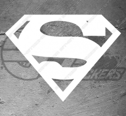 Stickers Superman, taille au choix