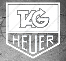 Stickers Tag Heuer, taille au choix