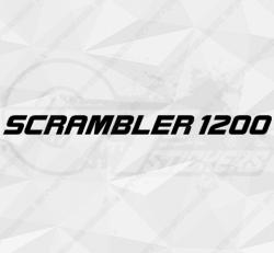 Stickers Triumph Scrambler 1200