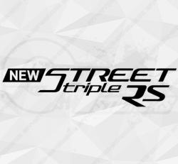 Stickers Triumph New Street Triple RS