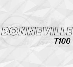 Stickers Triumph Bonneville T100