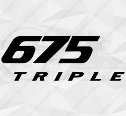 Stickers Triumph 675 Triple