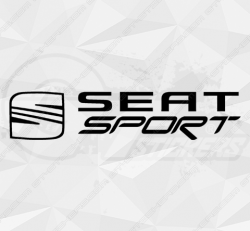 Sticker Seat Sport + Logo Type 1