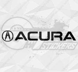 Sticker Logo Acura 2
