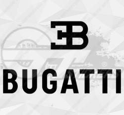 Autocollant Logo Bugatti 2