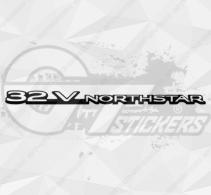 Sticker Cadillac 32v Northstar