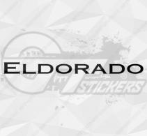 Sticker Cadillac Eldorado
