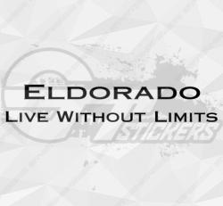 Sticker Cadillac Eldorado Live