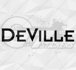 Sticker Cadillac Deville