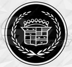 Sticker Logo Cadillac
