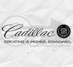 Sticker Cadillac Creating 2