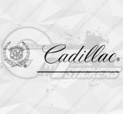 Sticker Logo Cadillac 2