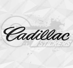Sticker Cadillac Logo 3