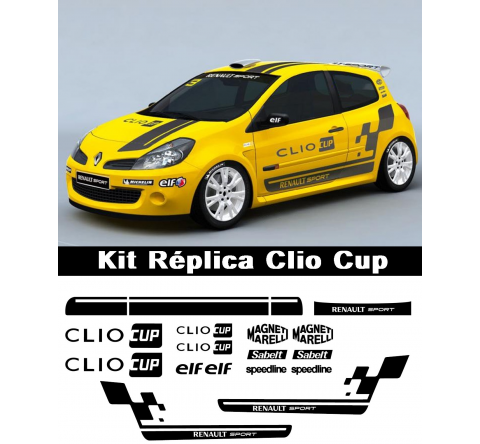 Kit Replica Renault Sport Clio Cup