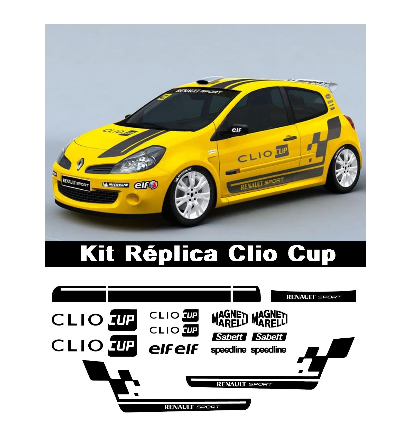 Renault Sport: Kit Replica Renault Sport Clio Cup