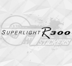 Sticker Catterham Superlight R300