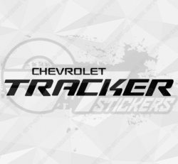 Sticker Chevrolet Tracker