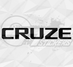 Sticker Chevrolet Cruze